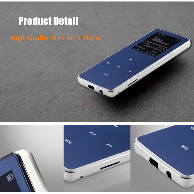 ONN W6 Rechargeable 8GB Bluetooth MP3 Player Mini Sport Mp3 HIFI Lossless Music Media Audio Player with 1.8 TFT Screen Fm Radio (20)