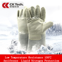 CK Tech. Antifreeze Gloves Low Temperature Resistant Liquid Nitrogen Protection Dry Ice Cold Storage LNG Cold proof Gloves