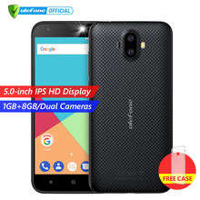 Ulefone S7 1GB RAM+8GB ROM Smartphone 5.0 inch IPS HD Display Android 7.0 Dual Camera 3G mobile phone(China)
