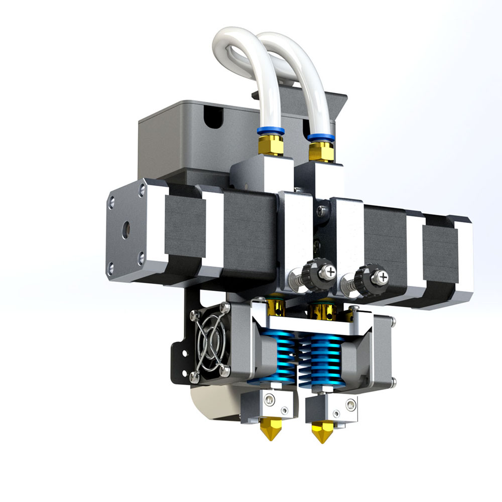 Industrijski 3d printer 3D pisač D600 Dualni ekstruder 600 * 600 * - Uredska elektronika - Foto 5