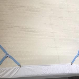 Image 5 - 4 Giường Kẹp Ga Giường Kẹp Co Giãn Điều Chỉnh Cách Đi Dây Đeo Đựng Chăn Ga Gối Kẹp Cho Giường Nệm Nhanh