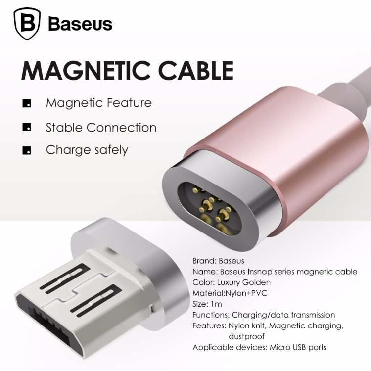 3 Baseus Magnetic Charger Cable