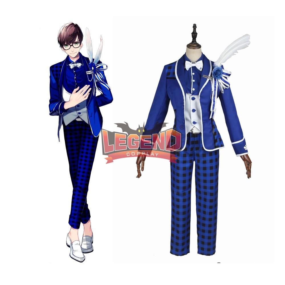 Anime B-project Kodou Ambitious MooNs Mikado Sekimura Cosplay Costume Coat adult costume halloween costume custom made full set