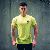 2018 Summer New Men S Gyms T Shirt Fitness Fashion Men S Short Cotton Clothing Brand