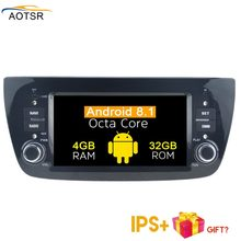 Newest Android 8.1 Car DVD Multimedia head unit For FIAT DOBLO/Opel Combo/Tour 2010+ with GPS navigation Radio stereo /RDS 4+32G(China)