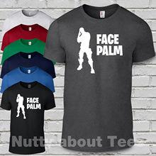 fort adults teenage t shirt Face Palm Battle Royale tee Free shipping Harajuku Tops t shirt Fashion Classic Unique t-Shirt oscar de la renta rosamor