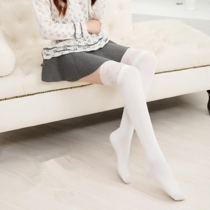 Девушка в длинных белых носках фото фото 527-358