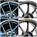 4pcs/set Rims Alloy Wheel Decals Stickers for Renault Megane