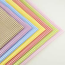 Mix 7 шт хлопок Ткань различных Цвет прекрасный проверить Дизайн