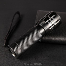 Lantern flashlight High Power Torch 2000 lumens 3 * AAA Batteries Zoomable LED Flashlight Torch light Free shipping