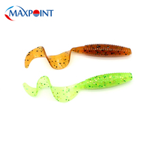 цена на 15 pcs/pk Grub Baits 5cm Soft Lure for Perch Bass Fishing Lures Pesca Soft Baits Floating Realistic Rock Fish Lure Pond Fishing
