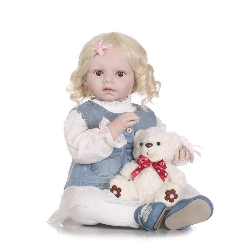 28 70 см силиконовые возрождается Куклы младенцев для Большая распродажа Reallistic девочка живые возрождается малыша bonecas дети Игрушечные лошад