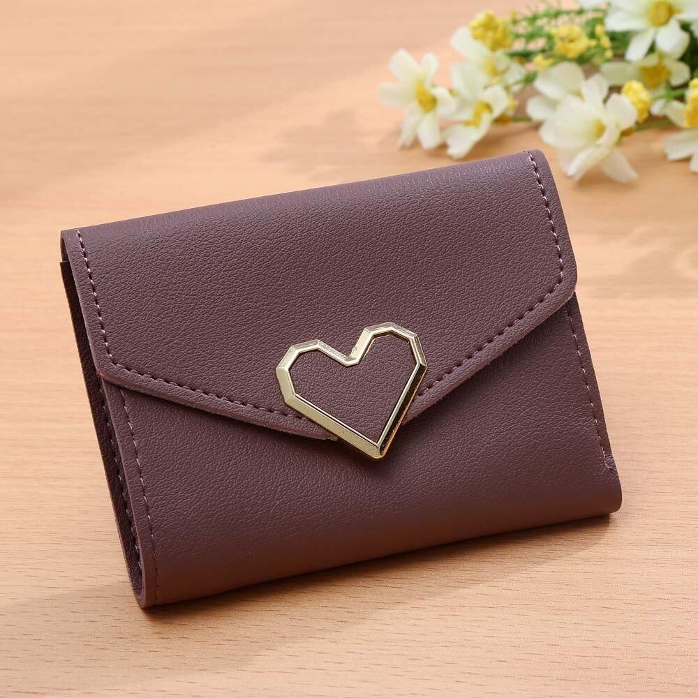 Koreanska stil kvinnor plånböcker rosa kort plånbok för - Plånböcker - Foto 4