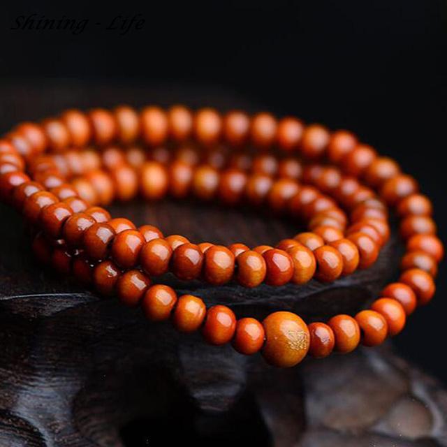 Dark Sandalwood Meditation Bracelet