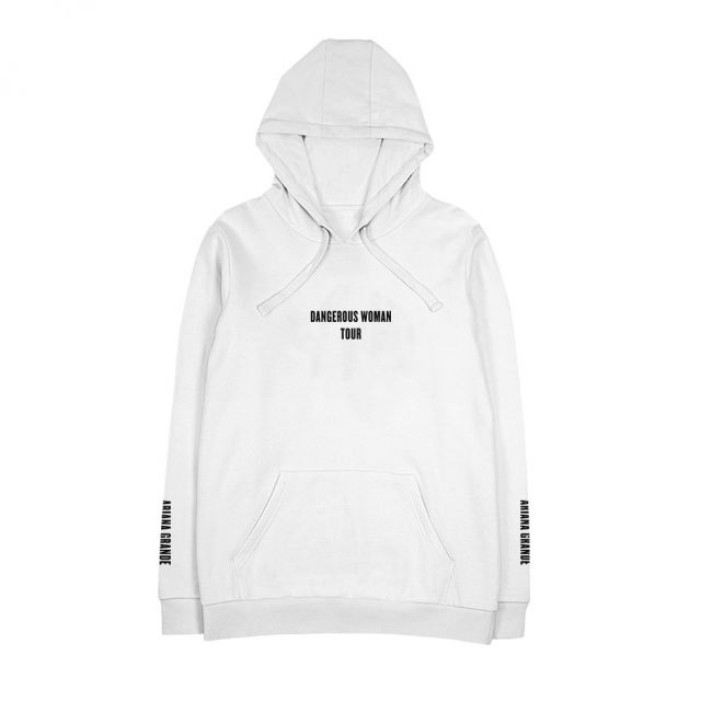 7b17f0d37 Exclusive Hoodies Dangerous Woman 2018 Tour Bunny White Black Hoodie Womens  sweatshirts Fashion Streetwear Hooded