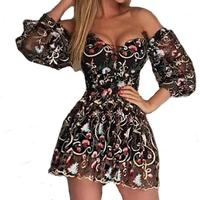 Sexy Off Shoulder Sequin Sexy Dress Female Summer Bling Party Queen Dresses Women Long Sleeve Fashion Party Dress Vestidos