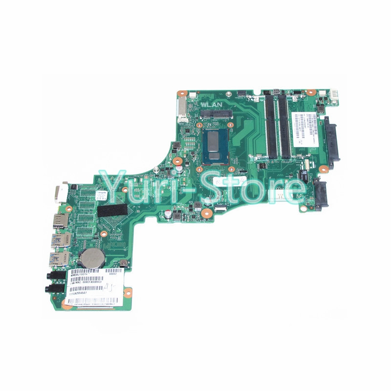 NOKOTION Brand New Laptop Motherboard For Toshiba Satellite L55 L55-A V000318210 Main Board SR16Q I3-4010 CPU DDR3L works hot new free shipping h000052580 laptop motherboard fit for toshiba satellite c850 l850 notebook pc video chip 7670m