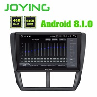 JOYING 2 din Android 8.1 car radio player for Subaru Forester 2008 2012 built in DSP support Android auto stereo GPS head unit
