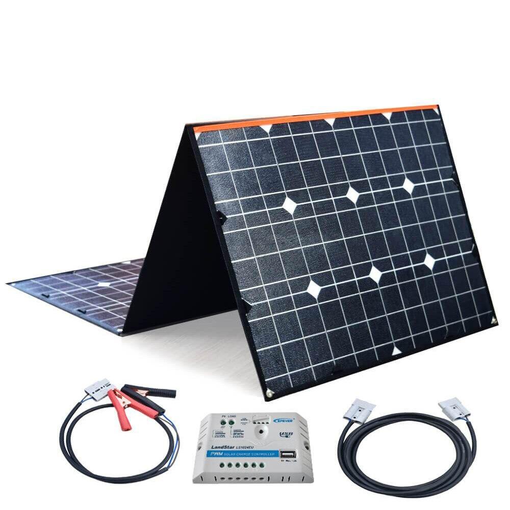 XINPUGUANG ETFE 18 V 180 W flexible panneau solaire Portable pliable sac Module câble 20A USB contrôleur pour chargeur de camping en plein air