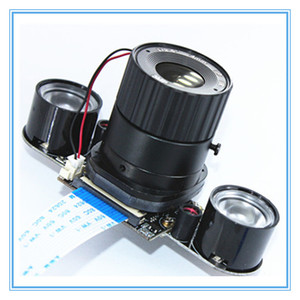 Image 5 - Raspberry Pi 3 B + 5MP กล้อง IR CUT 5MP 72 องศาโฟกัสปรับความยาว Night Vision NoIR กล้องสำหรับ Raspberry pi 3 รุ่น B +