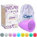 Wholesale Reusable Medical Grade Silicone Menstrual Cup Feminine Hygiene Product Lady Menstruation Copo