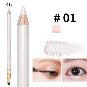 Color eye shadow pen with makeup brush waterproof not blooming Eye Shadow