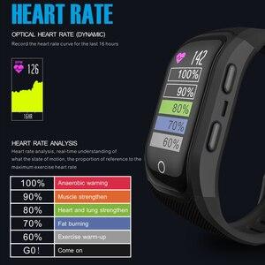 Image 4 - Makibes G03 artı renkli ekran erkek spor takip bilekliği IP68 su geçirmez GPS akıllı bant saatler bilezik Android ios için