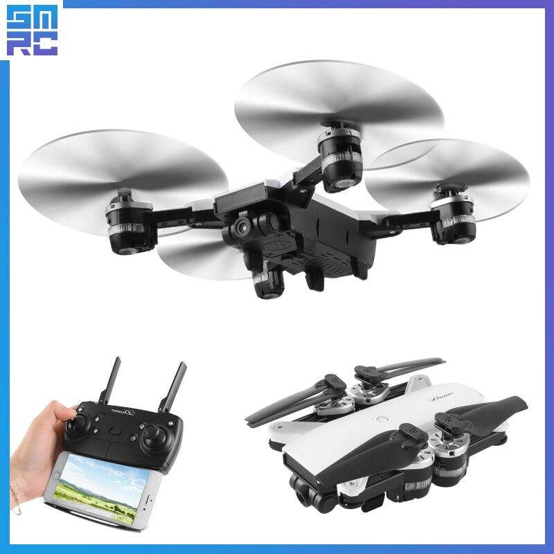 JD-20 JD20 WIFI FPV Avec 2MP Large Angle Caméra Haute Tenue Mode Pliable Bras RC Quadcopter RTF Selfie Drone Drones avec caméra hd