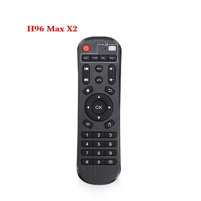 H96 Max Smart TV Box z systemem Android 8.1 procesor Amlogic S905X2 DDR4 4 GB pamięci Ram 32 GB Rom IPTV inteligentny zestaw- top box 4 K USB3.0 HDR H.265 Set-Top Box