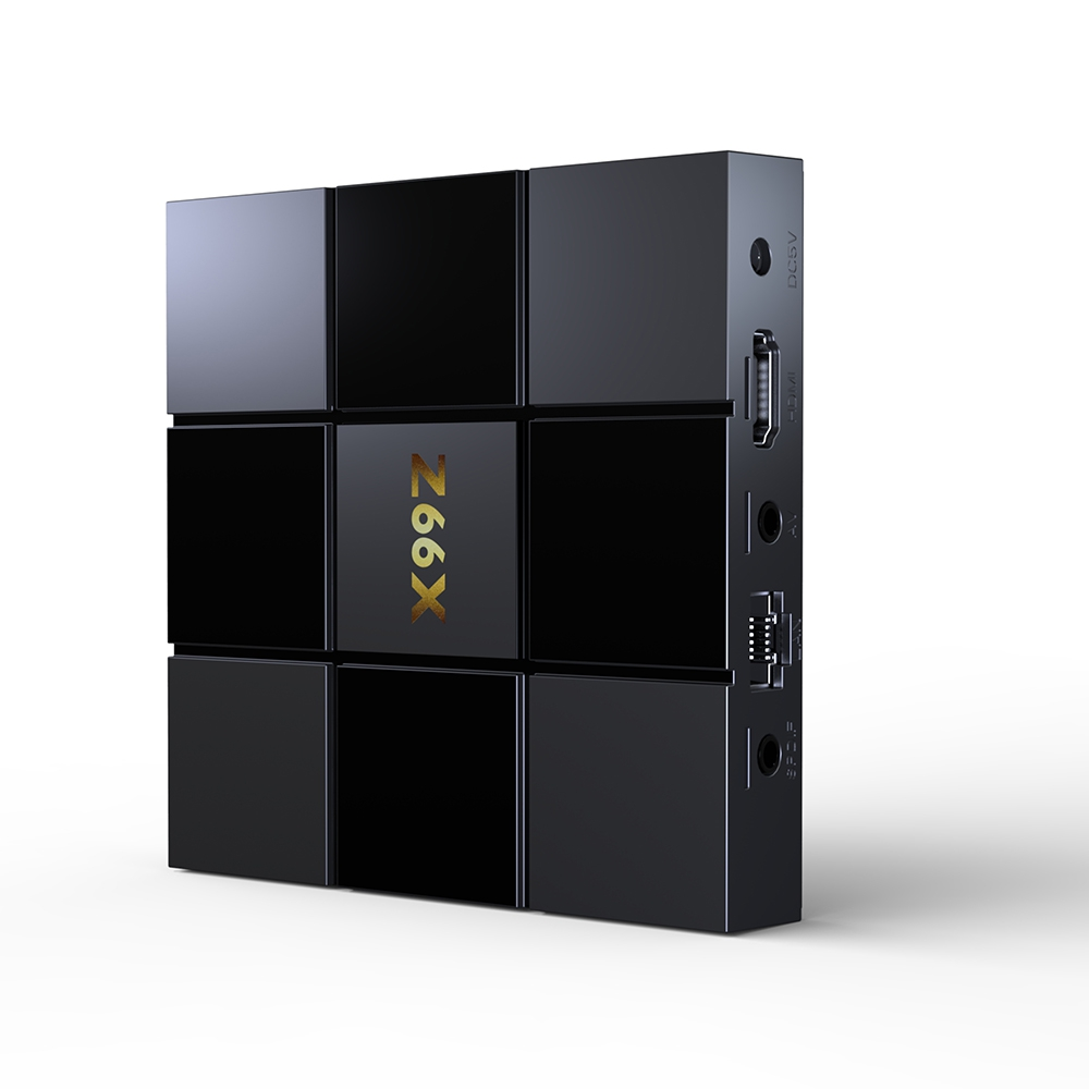 Z2 Smart TV Box Android 7.1 ZX296716 Z66X Caixa Inteligente Quad-Core 2.4G WiFi 100 M RJ45 2 GB de RAM 16 GB ROM 3D Vídeos Set Top Box