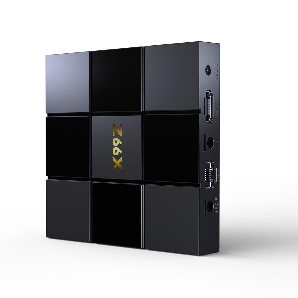 Z66X Z2 2 GB RAM 16 GB di ROM Smart TV Box Android 7.1 ZX296716 Quad-Core Smart Box 2.4G WiFi 100 M RJ45 3D Video Set Top Box
