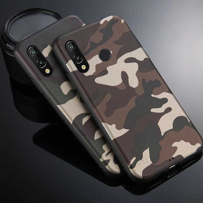 Army Camouflage Case For huawei P Smart Y7 Prime 2019 For Huawei P30 P10 P20 Pro Nova 4 Honor 8X Max 7A 7C Mate 20 10 Lite Cover