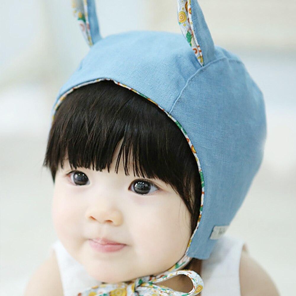 Clearance Boys Girls Hat Infant Rabbit Ears Beanies Newborn Photography Accessories Toddler Caps Casquette Enfant Touca Infantil