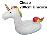 200cm Giant Inflatable Unicorns Pool Float Inflatable Pool Unicorn Floats Swimming Pool Float Unicorn Water Mattress Party Toys