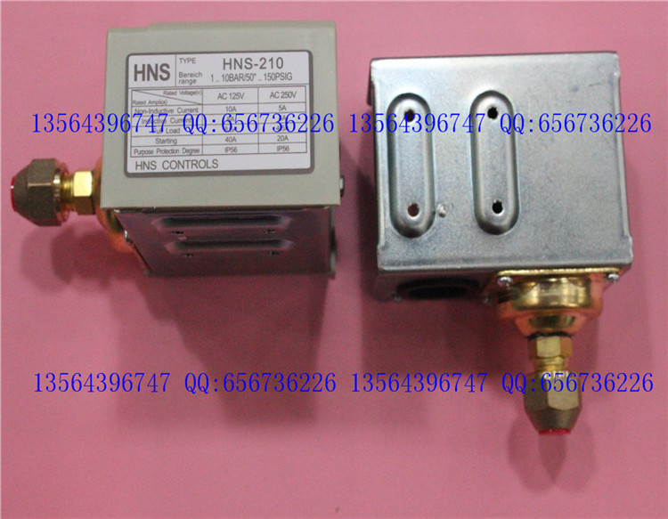 ФОТО 3s pressure switch single electro controller  HNS-210