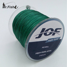 Mr. Fish 4 Strands 100M 8-100LB PE Multifilament Super Braided Fishing Line Carp Fishing For Fish Rope Cord