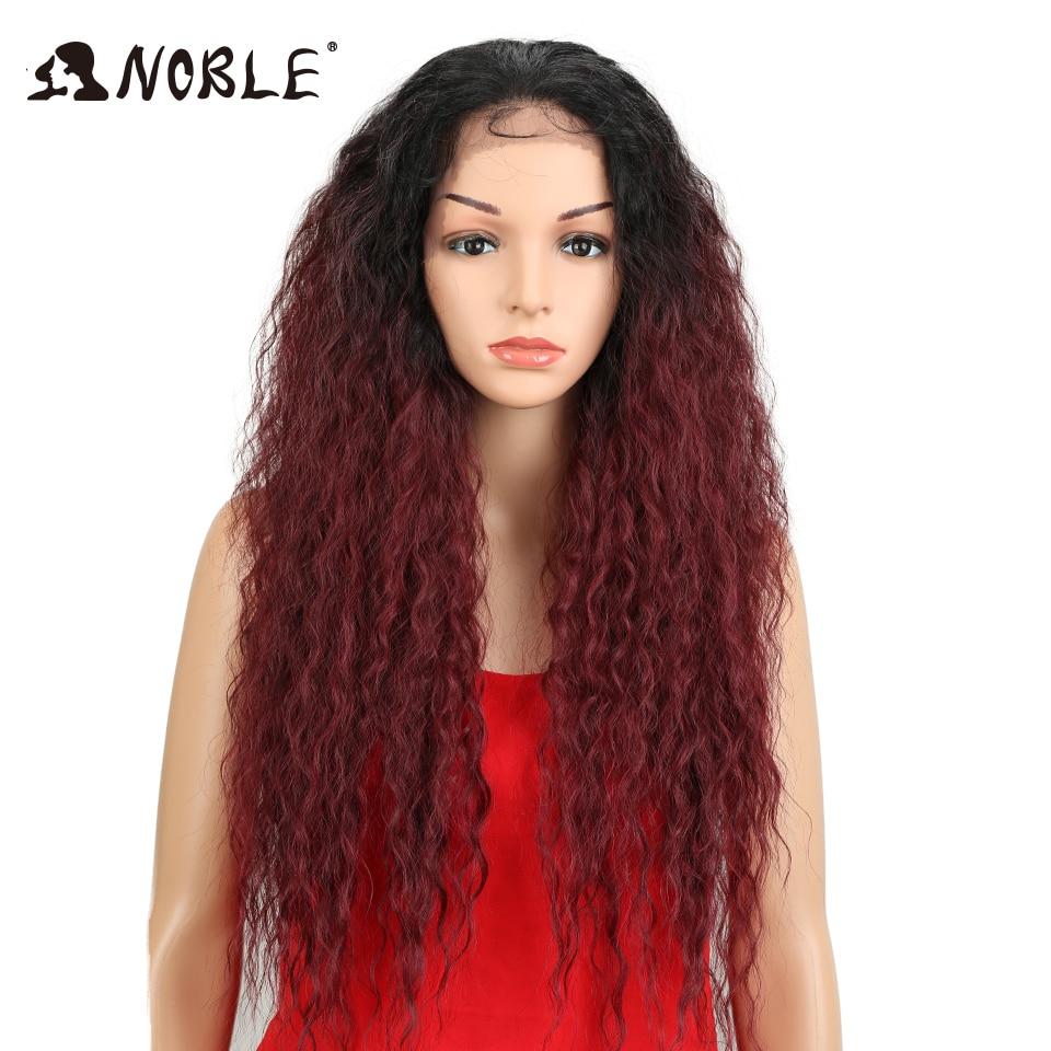 Noble peluca sintética del cordón Onda natural 30inches Pieza libre - Cabello sintético