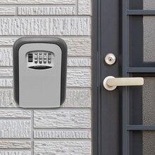 Sejf zabezpieczenia klucza uchwyt na klucz do przechowywania blokada 4 kombinacja cyfr blokada do montażu na ścianie blokada