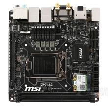 Desktop Motherboard MSI Z97I AC Original    Z97 LGA 1150 DDR3 SATA3 USB3.0 16G Mini-ITX mainboard