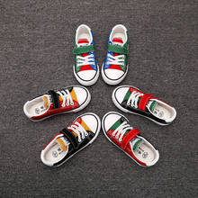 kids shoes 2019 summer new fashion wild boys girls sport casual breathable mesh non-slip soft bottom candy children canvas shoes