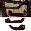 2 colores Car-Styling Protector de Borde Lateral Almohadilla de Protección protección Anti-kick Felpudos Cubierta Para FORD Forte 2014 2015 2016
