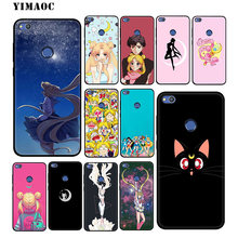 YIMAOC Sailor Moon Anime Soft Case for Huawei Mate 20 10 P30 P20 Pro P10 P9 P Smart Z 2019 & Nova 3 3i Lite for P30 Lite(China)