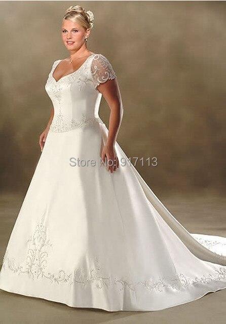 Luxurious Wedding Dresses Size 18