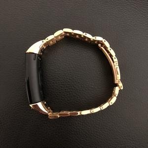 Image 3 - In metallo per Huawei Honor Fascia 4 5 Cinghia Della Fascia Dellacciaio inossidabile Del Braccialetto Accessori per Articoli Elettronica Smart Wristband
