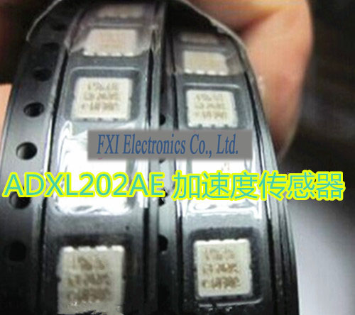 Free shippin 5pcs/lot ADXL202AE CLCC8 ADXL202 accelerometer original authentic free shippin 10pcs lot 79m12 to 252 l7912cv smd three terminal regulator ic 7912 new original