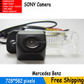 HD SONY Carro Rear View Camera Reversa Backup para para Mercedes Benz Classe C-300 W219 CLS W211 W203 E-Classe-Classe R350 R500 ML350
