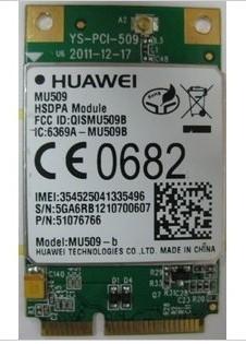 JINYUSHI dla MU509 2G 3G 100 nowy i oryginalny oryginalny dystrybutor Mini PCIe WCDMA krawędzi HSDPA HSPA + moduł darmowa wysyłka tanie i dobre opinie Wewnętrzny Zdjęcie wireless 7 2M