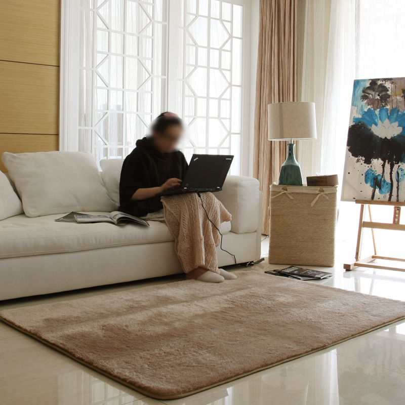 Custom 140x200cm Rugs And Carpets For Living Room Modern Shaggy ...