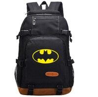 2017 New Batman Backpack School Student Bags Bookbag Eenagers Satchel Rucksack Work Leisure Fashion Laptop Shoulder
