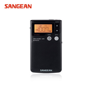 Бесплатная доставка SANGEAN DT-200X полный диапазон радио цифровой демодулятор FM/AM/стерео радио